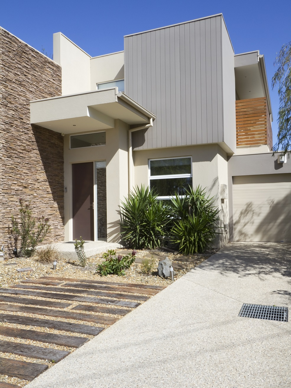 Exposed aggregate is great for driveways