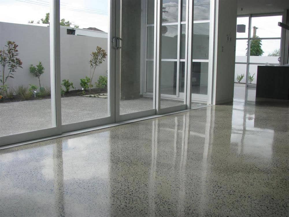 polished aggregate flooring perth